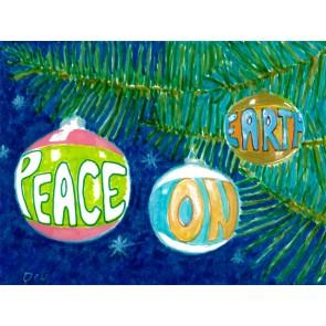 Peace on Earth Ornaments