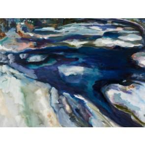 Piscataquog River in Winter