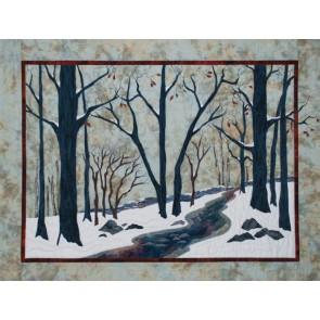 Snowshoers Landscape